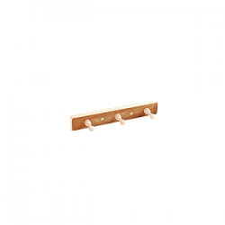 Вешалка 3 крючка Термо (ВТ-3)