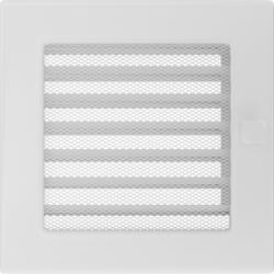 Решетка Белая с задвижкой (17*17) 17BX