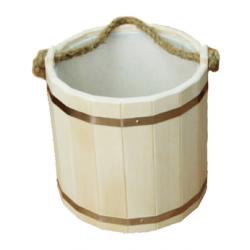 Ведро Емеля 10л. с пластиком (ВП-10)