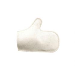 Рукавичка белая (арт.3031)