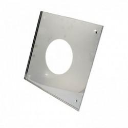Экран защитный (430/0,5 мм) 500*500 с отв. Ф80